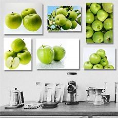 캔버스사과액자-16종/프레임2.7cm/재물운을 부르는 사과액자