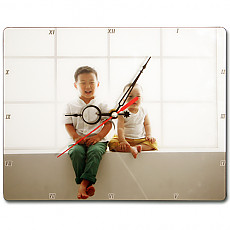 디아크포토시계액자 사진 그림  인테리어 탁상 시계
